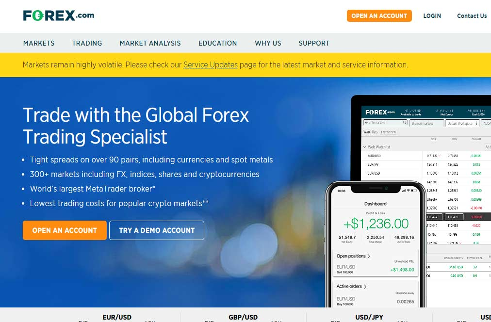 How to start trading forex - choose the right broker